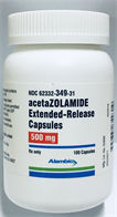 Acetazolamide Capsule, Extended Release;Oral