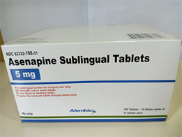 Asenapine Sublingual Tablet