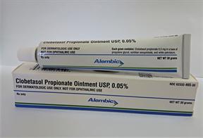 Clobetasol Propionate Ointment;Topical