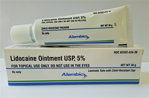 Lidocaine Ointment;Topical