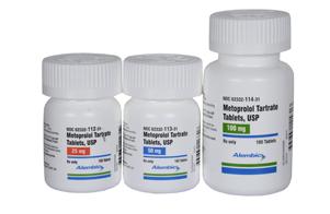 Metoprolol Tartrate Tablet;Oral