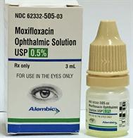 Moxifloxacin Ophthalmic Solution USP 0.5%
